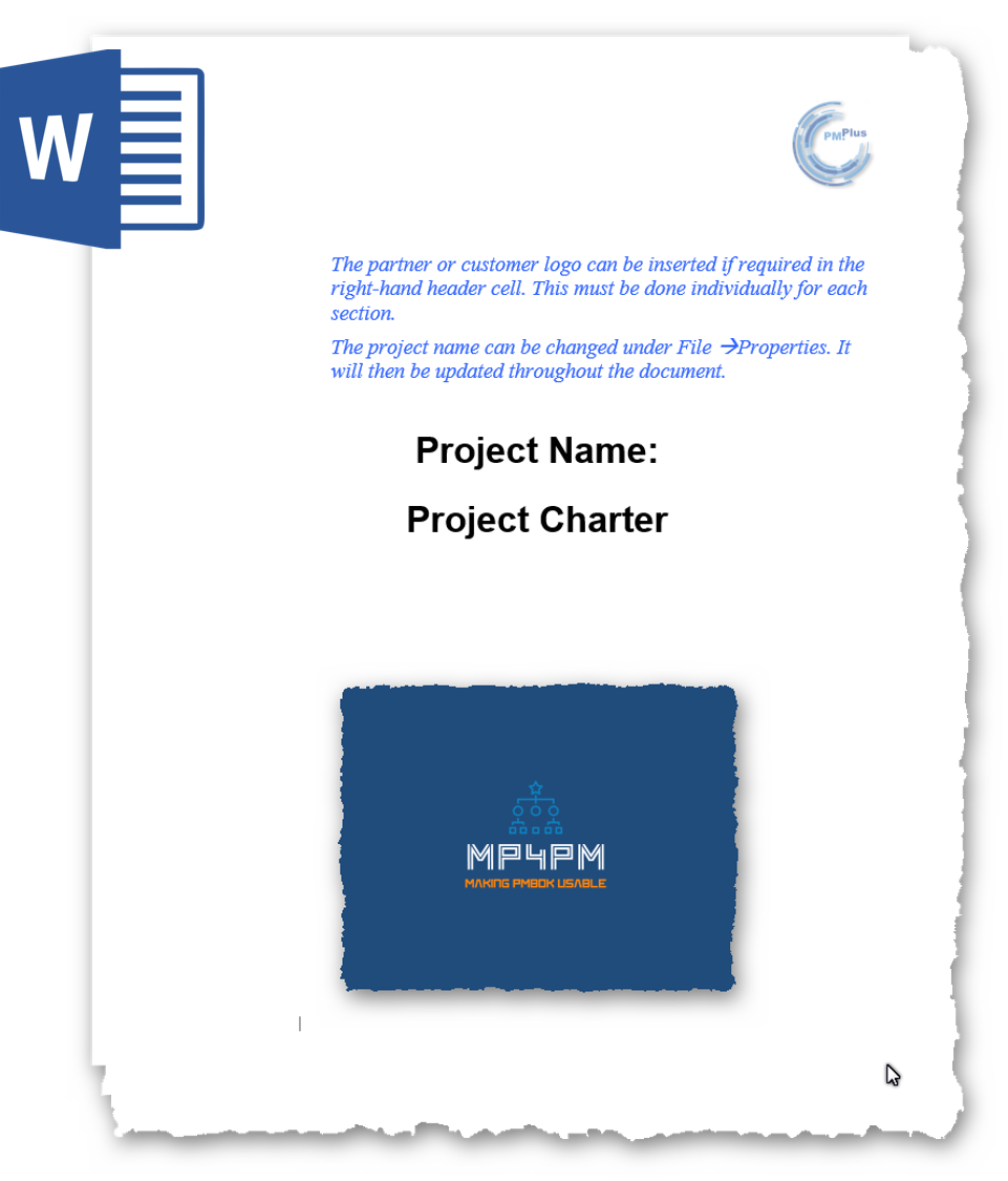MP4PM Project Charter template