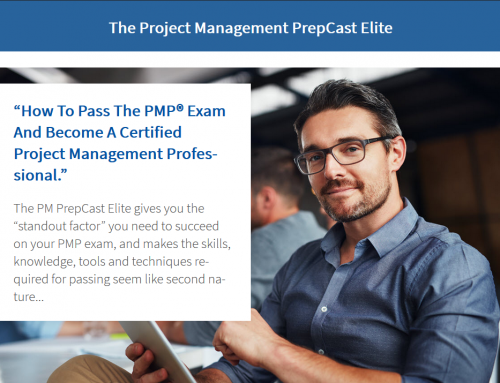 PMPrepCast ELITE – The ULTIMATE prep tool bundle to become a PMP®! – 10% OFF 0nly short time left!