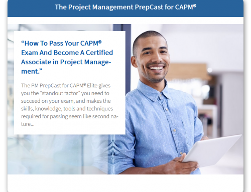 Get this ULTIMATE prep tool to become a CAPM® BEFORE the change takes place! [10% OFF – NOW!]